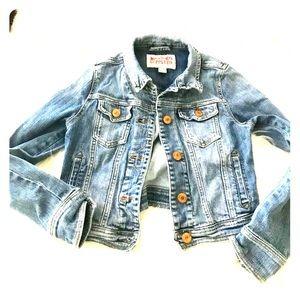 Mossimo supply  short Jean jacket